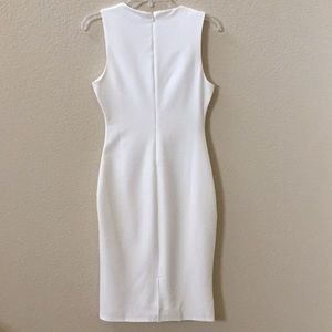 Lulu's Dresses - Lulus white bodycon interview work dress